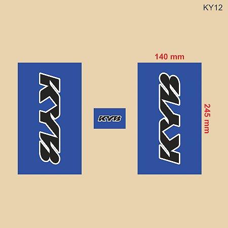 Adesivo de Suspensão KYB - KY12
