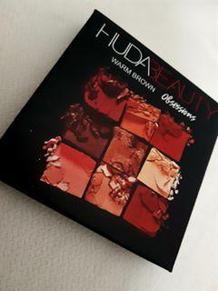 Paleta Huda Beauty Warm Brown Obsessions