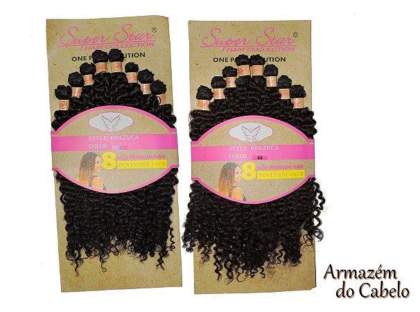 Cabelo Orgânico Cacheado - Super Star – Hair Collection - Brazuca