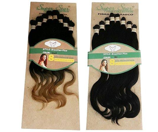 Cabelo Orgânico Liso Ondulado - Super Star – Hair Collection – Brazilian Plus