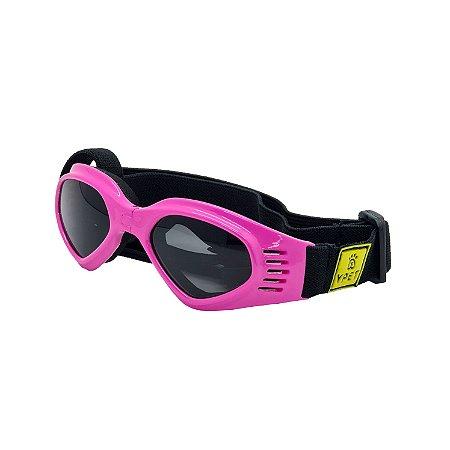 Óculos para cachorro Deluxe Rosa