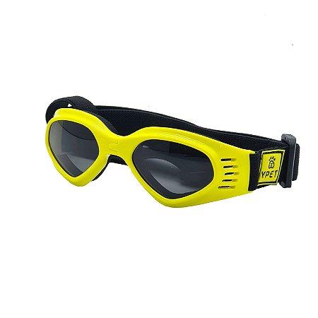 Óculos para cachorro Deluxe Amarelo