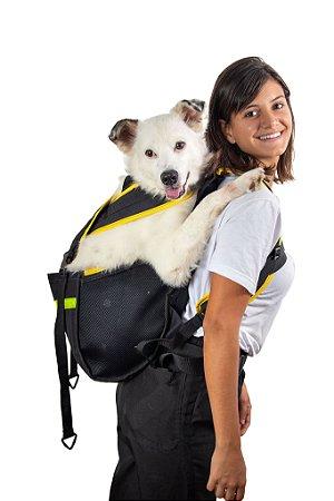 Mochila Yellow Pet Para Cachorro - Tamanho G