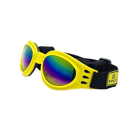 Óculos para cachorro Basic Amarelo