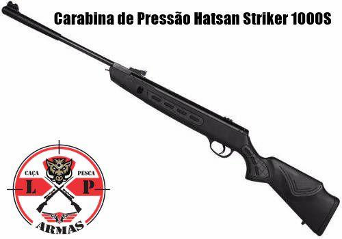 Carabina de pressão Hatsan Striker 1000S 5,5mm