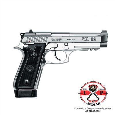 Pistola Taurus PT 59 S