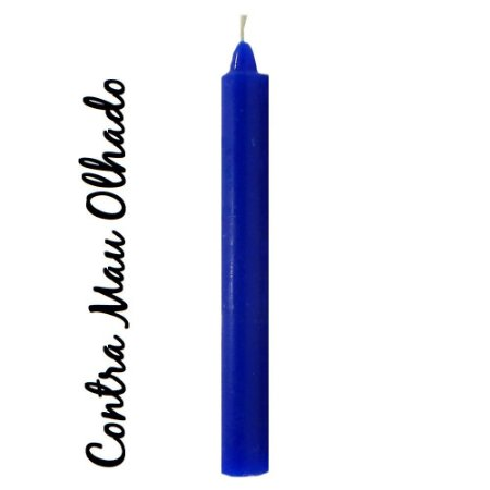 Vela Palito Azul Escuro (1 unidade)