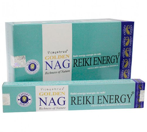 Incenso Massala Golden Nag Reiki Energy
