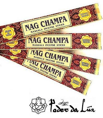 Kit 4 cx Incenso Tulasi Massala Nag Champa