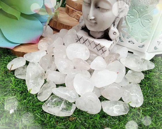 Kit de Pedra Quartzo Cristal 100g