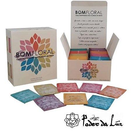 Caixa de Chá Mix Bom Floral 8 Sabores (48 Sachês)