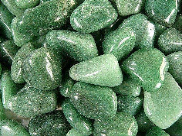 Kit de Pedra Quartzo Verde 100g