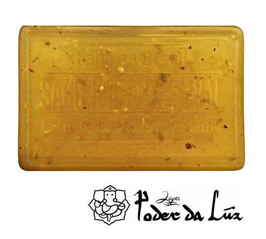 Sabonete Artesanal de Mel e Gengibre Poder da Luz (145g)