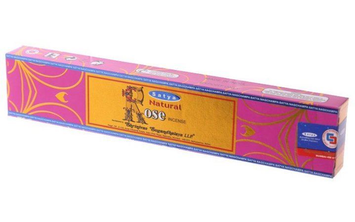 Incenso Massala Satya Natural Rose