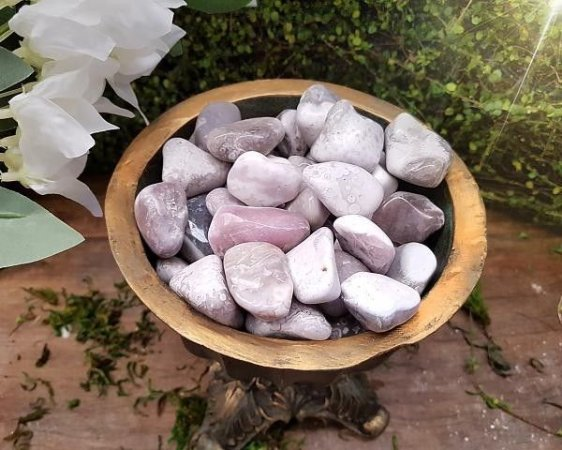 Kit de Pedra  Ágata Botswana 100g