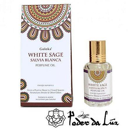 Óleo Perfumado Goloka White Sage (Sálvia Branca)