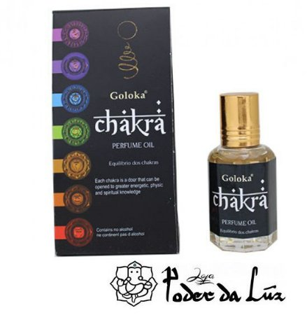 Óleo Perfumado Goloka Chakra