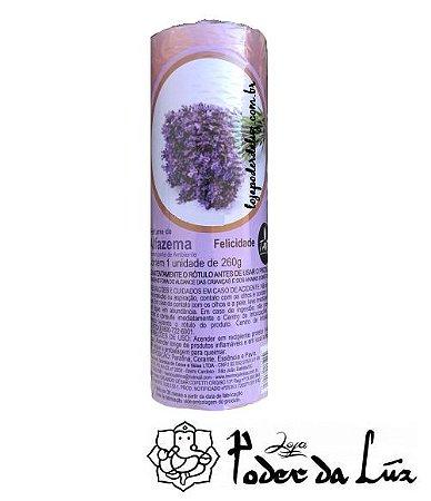 Vela Aromática de Alfazema 260g (Relaxante)