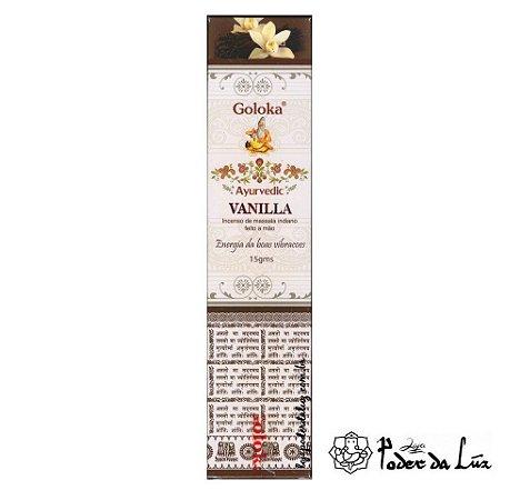 Incenso Massala Goloka Ayurvedic Vanilla