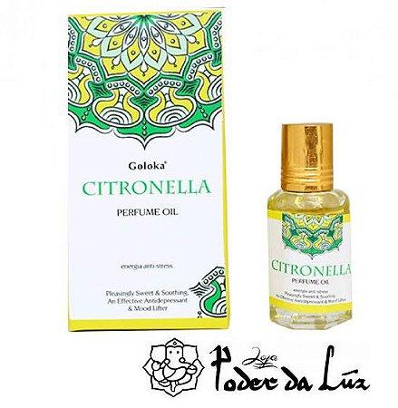 Óleo Perfumado Goloka Citronella