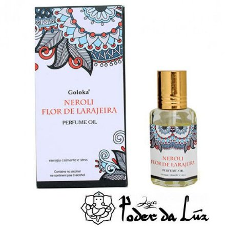Óleo Perfumado Goloka Neroli Flor de Laranjeira