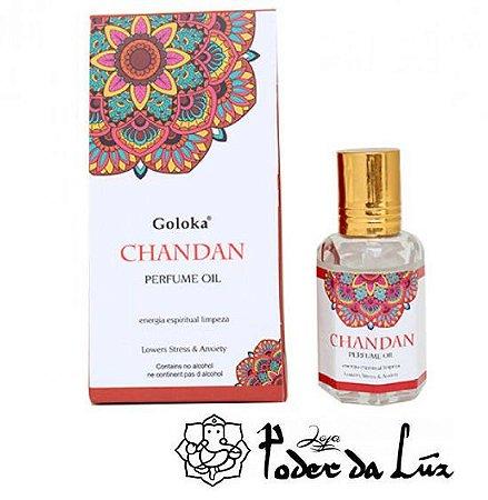 Óleo Perfumado Goloka Chandan