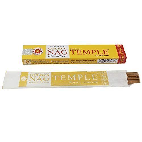 Incenso Massala Golden Nag Temple