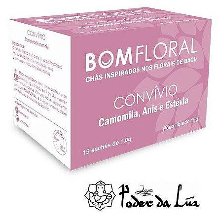 Caixa de Chá Convívio Bom Floral (15 Sachês)