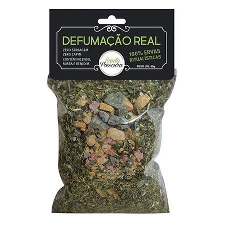 Defumação Real (ervas e resinas)