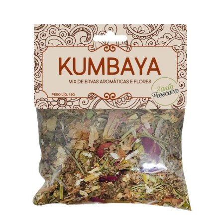 Defumação Kumbaya (Ervas e Flores)