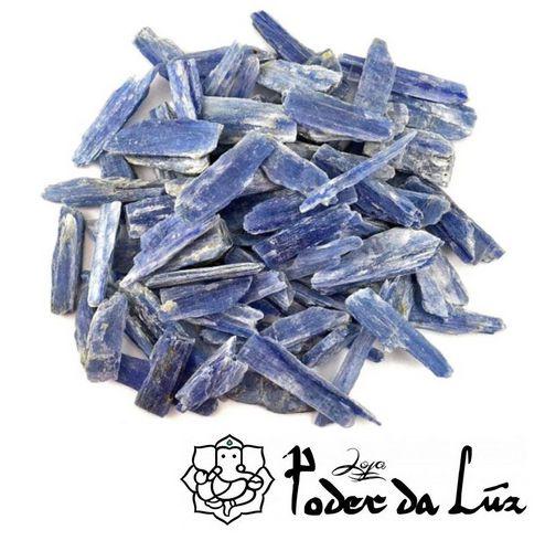 Kit de Pedra Cianita Azul 100g (5 cm a 10 cm)