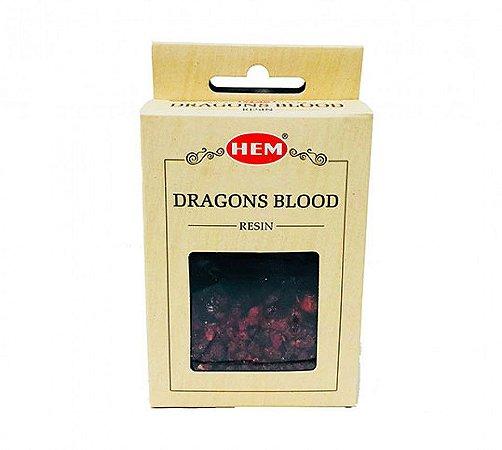 Incenso em Resina Natural Dragons Blood (Sangue de Dragão) Hem 30g