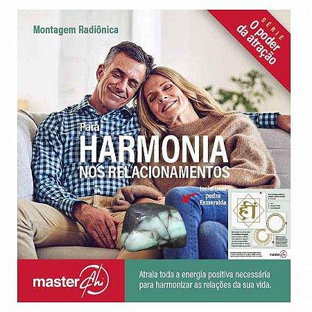 Kit de Placas Radiônicas Harmonia nos Relacionamentos + Pedra Esmeralda