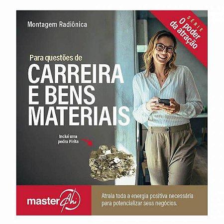 Kit de Placas Radiônicas Carreira e Bens Materiais + Pedra Pirita