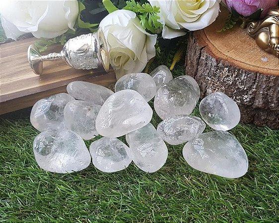 Pedra Quartzo Cristal (unidade de 80g a 100g)