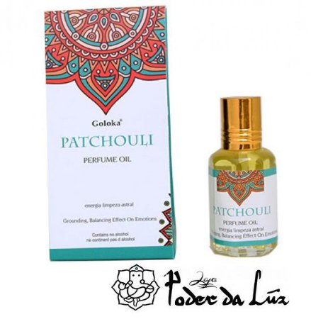 Óleo Perfumado Goloka Patchouli