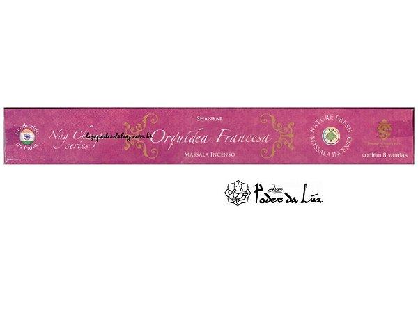 Incenso Massala Shankar Orquídea Francesa