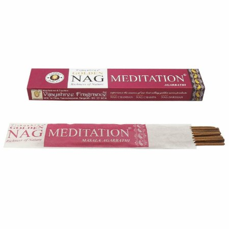 Incenso Massala Golden Nag Meditation
