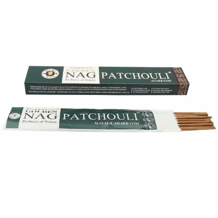 Incenso Massala Golden Nag Patchouli