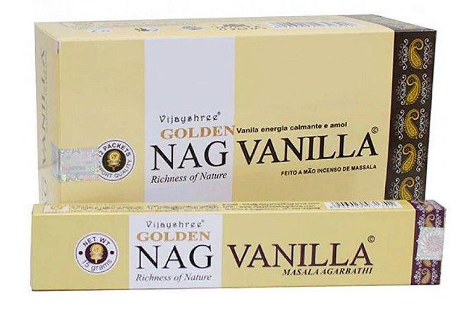 Incenso Massala Golden Nag Vanilla