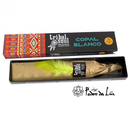 Incenso Massala Tribal Soul Copal Branco