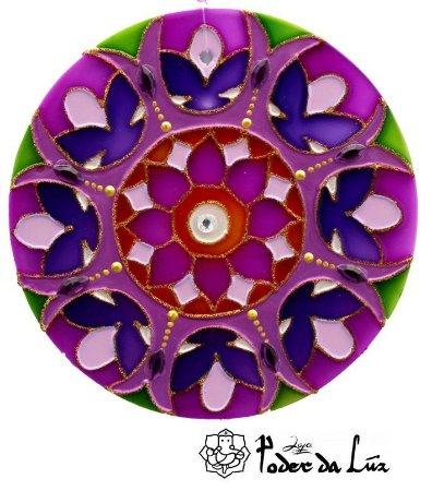 Ativador de Energia Mandala Espiritualidade (10cm)