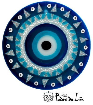 Ativador de Energia Mandala Olho Grego (10cm)