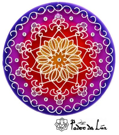 Ativador de Energia Mandala Prosperidade (14cm)