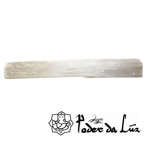 Bastão de Pedra Selenita Bruta (23cm)