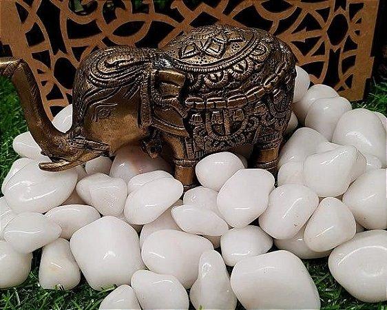 Kit de Pedra Quartzo Branco Leitoso 100g