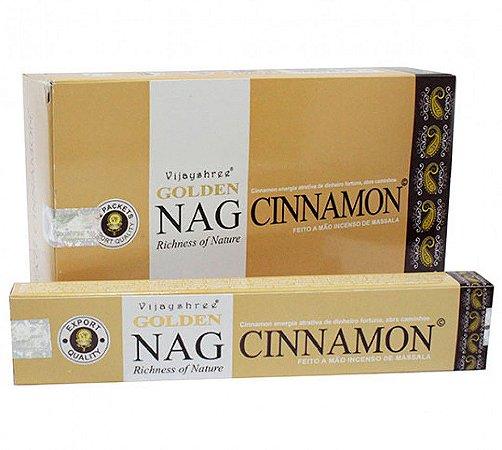 Incenso Massala Golden Nag Cinnamon (Canela)