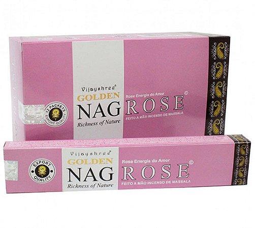 Incenso Massala Golden Nag Rose