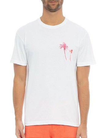 Osklen Camiseta Stone Coqueiros Bicolor 62356