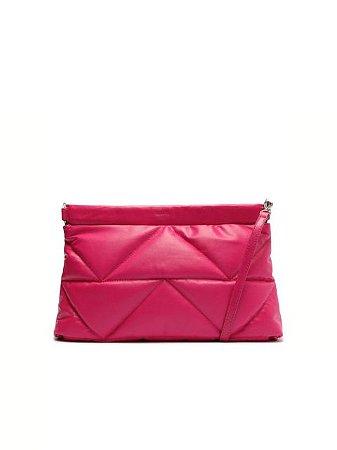 Schutz Bolsa Tiracolo Bárbara Couro Pink S5001001940003